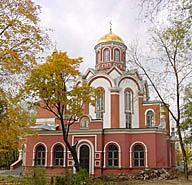 храм на Благовештение во Петровски парк воМосква