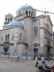 црква на свети Спиридон во Трст