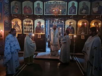 Викарен Епископ г. Јаков Стобиски: Триумфот на Православието