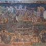 Scenes from the Gospel, south wall, St Nicetas, Banjani