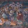 Истерување на трговците од Храмот, Св. Никита, с. Бањани