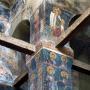 Поглед кон сводот на проскомидија, Св. Георгиј, Старо Нагоричане