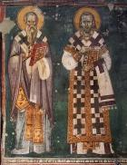 St Clement of Ohrid and St Constantine Cabasilas