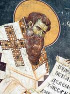 St Basil the Great, a detail