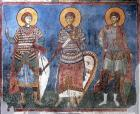 The Holy Great Martyrs George, Demetrius and Mercurius