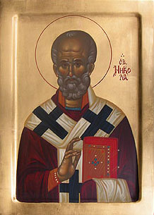 Saint Nicolas the Wonderworker, Archbishop of Myra