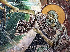 Resurrection, a detail, Kurbinovo