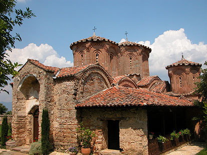 Monastery Church of the Most Holy Mother of God Eleusa, Veljusa.
